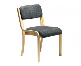 Harmony Wood Framed Stacking Side Chair