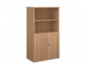 All Beech Open Top Cupboards