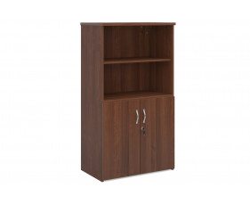 All Walnut Open Top Cupboards