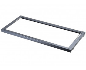 Universal lateral filing frame for systems cupboards