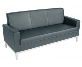 Helsinki 3 Seater Leather Sofa