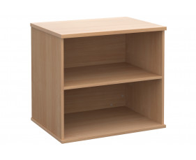All Beech Desk End Bookcase