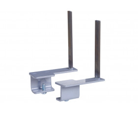 Brackets For Aluminium And Glazed Desktop Screens