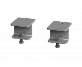 Single Desk Bracket For Glazed Desktop Screens