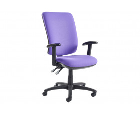 Isla High Back Operator Chair With Adjustable Arms