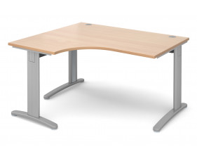 Trinity Deluxe Left Hand Ergonomic Desk