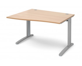 Trinity Left Hand Wave Desk