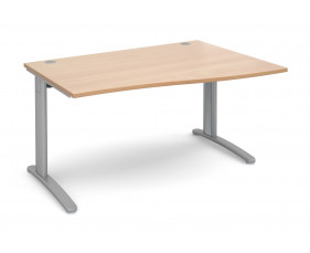 Trinity Right Hand Wave Desk