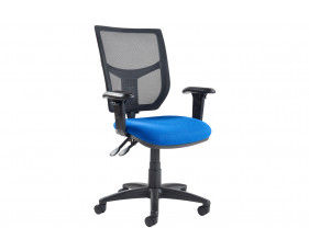 Gordy 3 Lever Mesh Back Operator Chair With Adjustable Arms