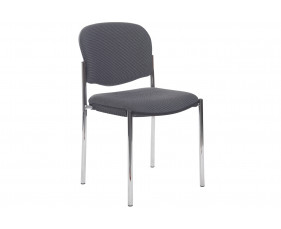 Mira Fabric Stacking Side Chair