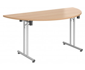 Rios Semi Circular Folding Table