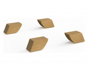 Wooden Feet For Brick Home Office Cube