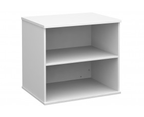 All White 1 Shelf Bookcase