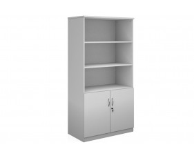 All White Premium High Capacity Open Top Cupboards