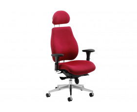 Praktikos Plus Posture Operator Chair With Headrest