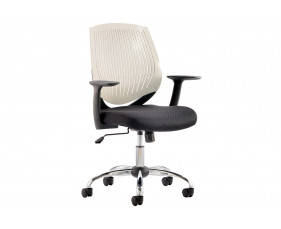 Rosina White Operator Chair