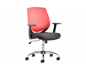 Rosina Red Operator Chair