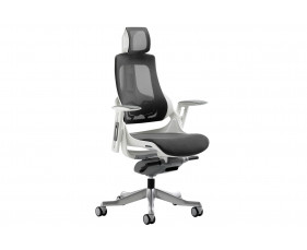 Zephyr Mesh Back Executive Operator Chair With Headrest