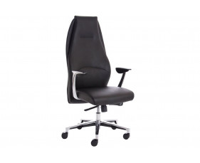 Sauda High Back Executive Chair Black