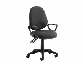 Solar 2 Lever Operator Chair With Fixed Arms