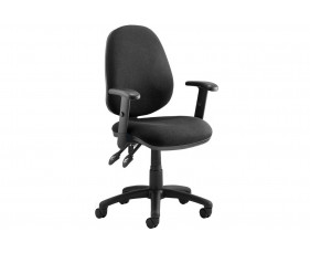 Solar 2 Lever Operator Chair With Adjustable Arms