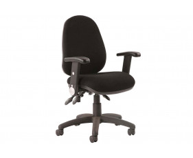 Solar 3 Lever Operator Chair With Folding Arms