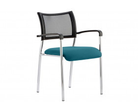 Tokyo Conference Armchair (Chrome Frame)