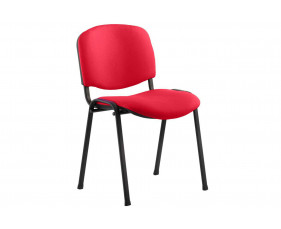 ISO Black Frame Conference Chair (Bergamot Cherry)