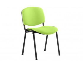 ISO Black Frame Conference Chair (Myrrh Green)