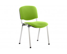 ISO Chrome Frame Conference Chair (Myrrh Green)