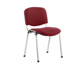 ISO Chrome Frame Conference Chair (Ginseng Chilli)