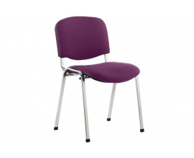 ISO Chrome Frame Conference Chair (Tansy Purple)