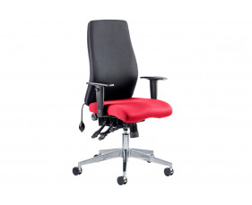 Brechin Executive Operator Chair Black Back