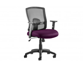 Belarus 1 Lever Mesh Back Operator Chair