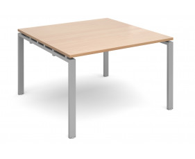 Prime Square Boardroom Table (Silver Legs)