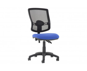 Lunar Plus 2 Lever Deluxe Mesh Back Operator Chair (No Arms)