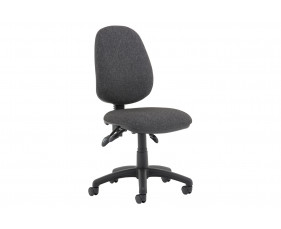 Lunar Plus 3 Lever Fabric Operator Chair (No Arms)