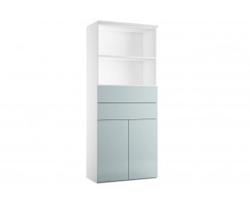 Indigo Combination Cupboard 3 (Metallic Blue)
