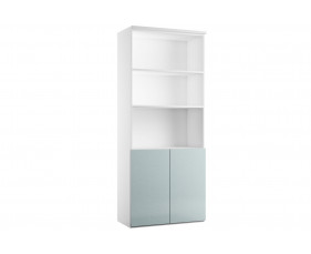 Indigo Combination Cupboard 2 (Metallic Blue)