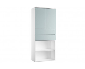 Indigo Combination Cupboard 4 (Metallic Blue)