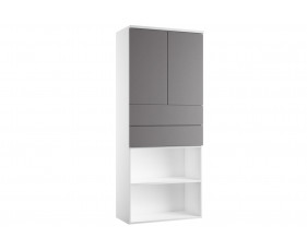 Indigo Combination Cupboard 4 (Grey Anthracite)