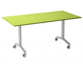 Solero Flip Top Rectangular Meeting Table (Green)