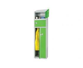 Elite 2 Person Locker With Sloping Top