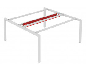 Double Cable Tray For Counsel Bench Desks