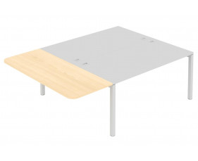 Straight Meeting Extension For Counsel Bench Desks (No Screens)