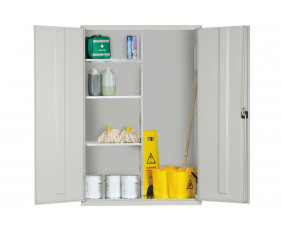 Elite Extra Wide Janitorial Cupboard