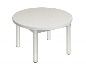 Gopak Enviro Round Coffee Table (Silver Frame)