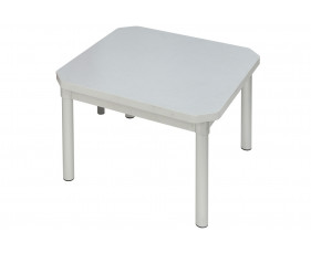 Gopak Enviro Rectangular Coffee Table (Silver Frame)