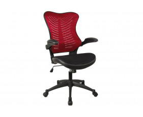 Mercury Mesh Back Operator Chair (Red)