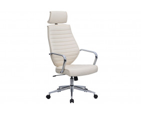 Wyatt Cream High Back Executive Chair